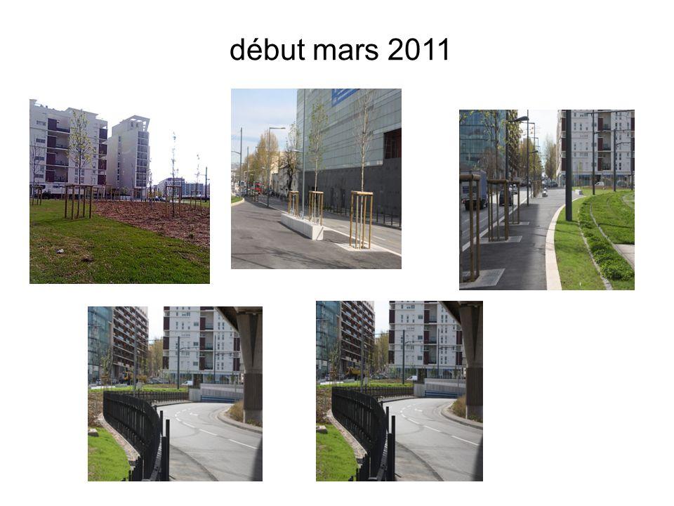 début mars 2011