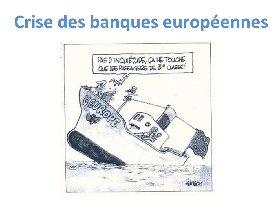 Crise des banques européennes