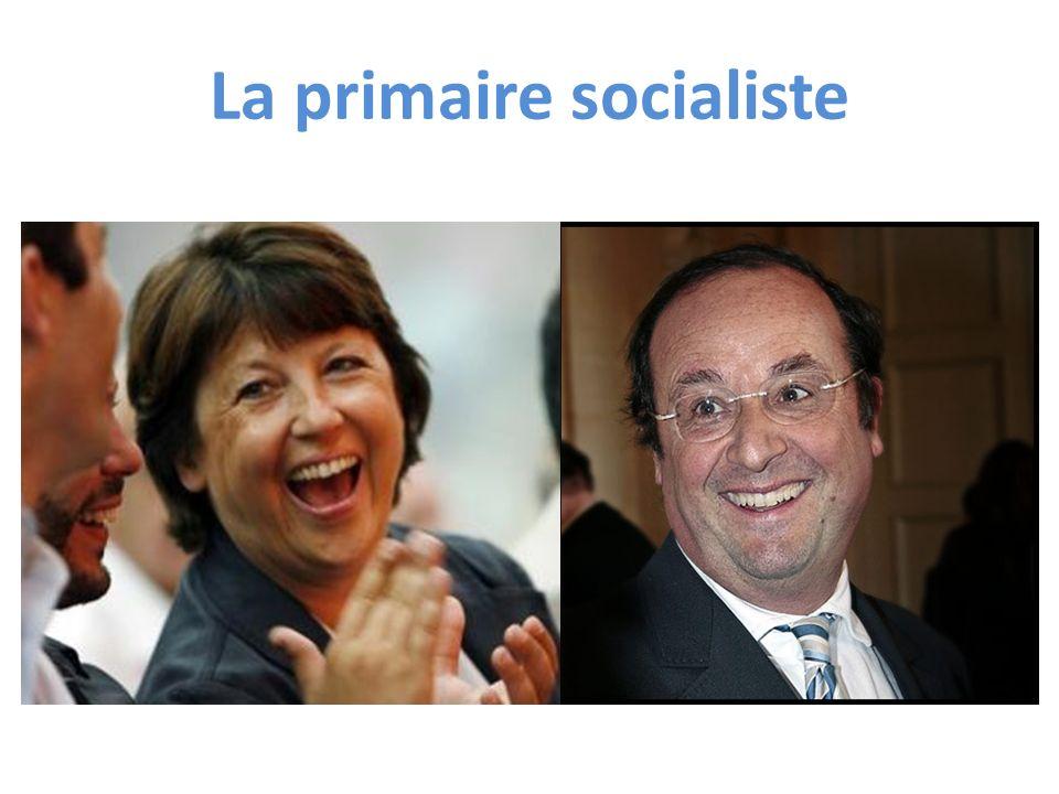 La primaire socialiste