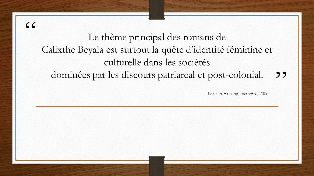 1996 Les honneurs perdus Saïda née au Cameroun, à Douala, New-bell milieu réligieux très rigoureux crise à quarante ans certificat de virginité valide pour dix ans Belleville intégré les normes de son père à Paris elle peut se découvrir elle-même « une déchirante tragi-comédie de notre époque »