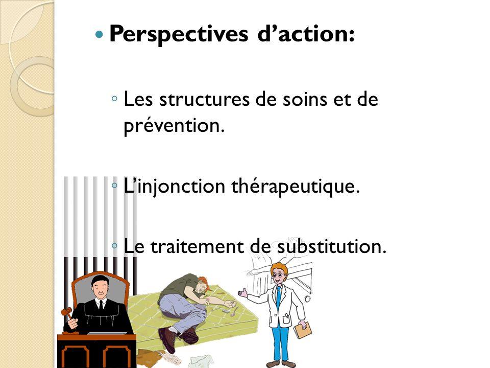 Perspectives daction: Les structures de soins et de prévention.