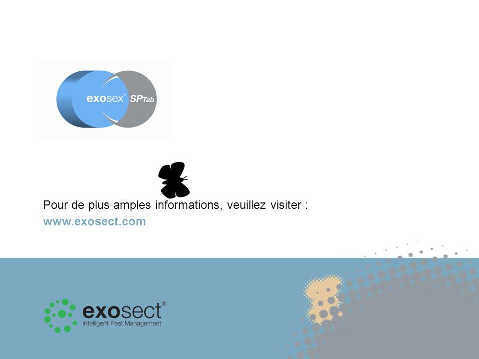 Pour de plus amples informations, veuillez visiter : www.exosect.com