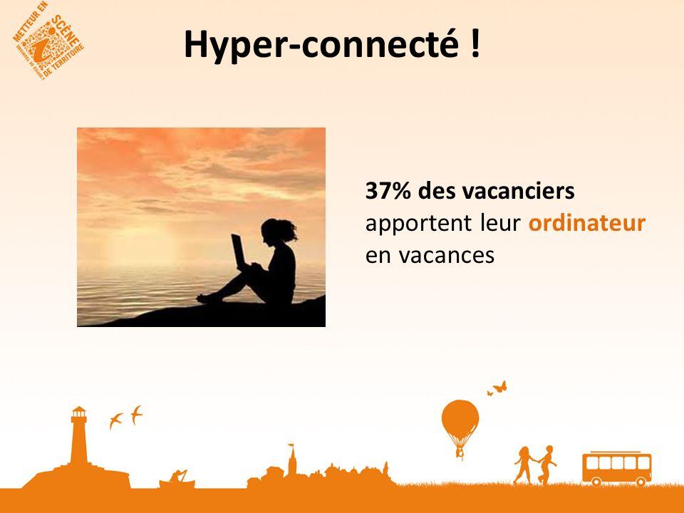 Hyper-connecté ! 37% des vacanciers apportent leur ordinateur en vacances