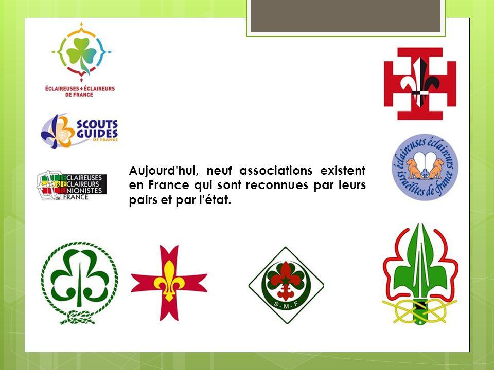 Aujourd'hui, neuf associations existent en France qui sont reconnues par leurs pairs et par l'état.