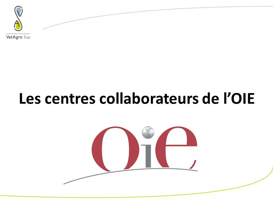 Les centres collaborateurs de lOIE