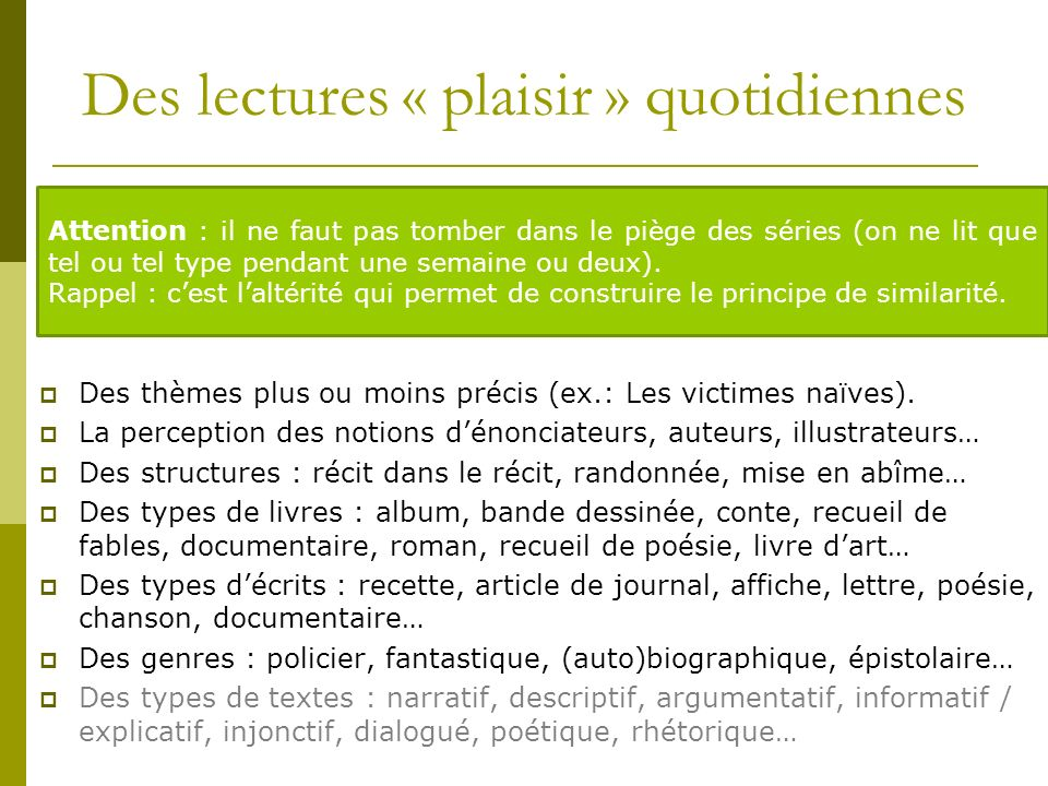 Compréhension fine Ateliers de Questionnements de Texte La lecture analytique