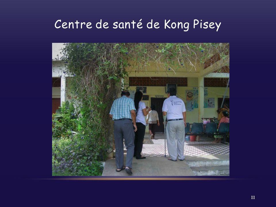 Centre de santé de Kong Pisey 11