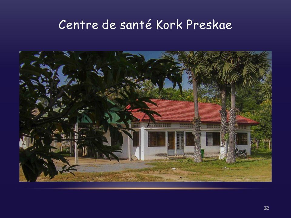 Centre de santé Kork Preskae 12