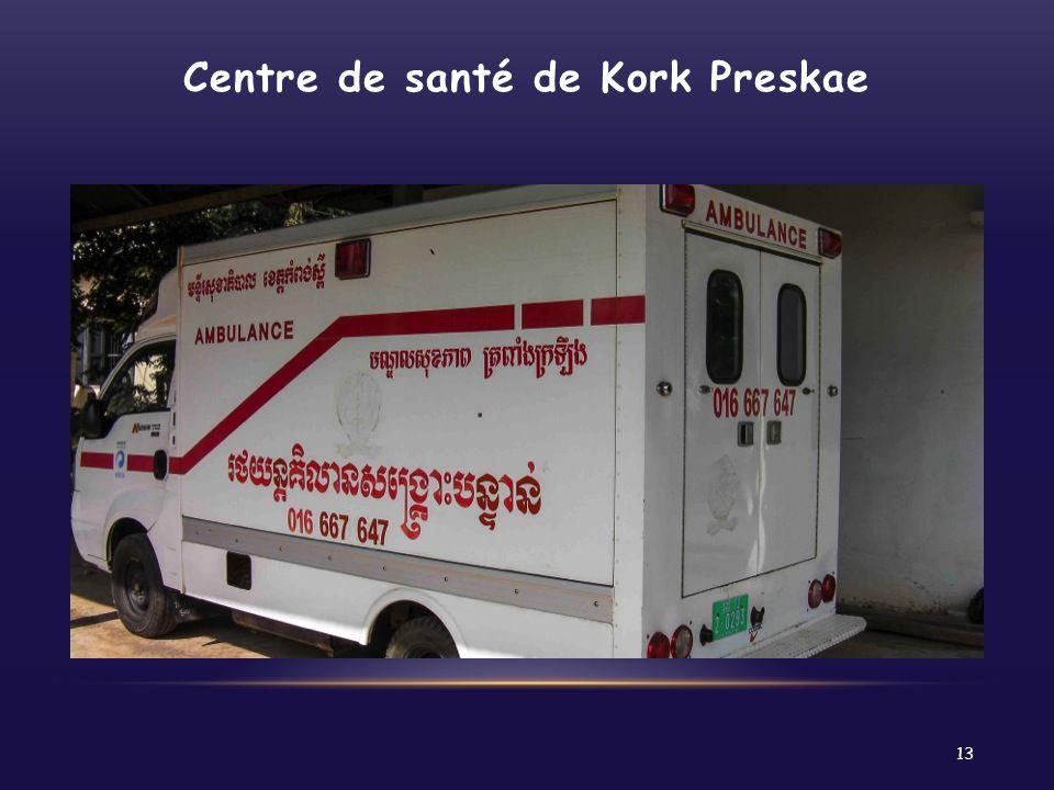 Centre de santé de Kork Preskae 13