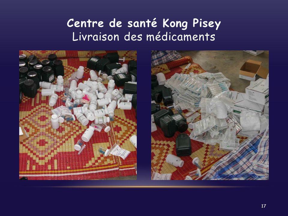 Centre de santé Kong Pisey Livraison des médicaments 17