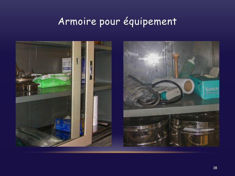 Armoire pour équipement 18
