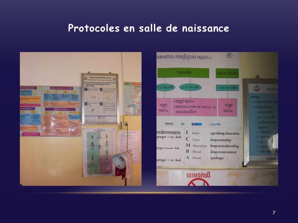 Protocoles en salle de naissance 7