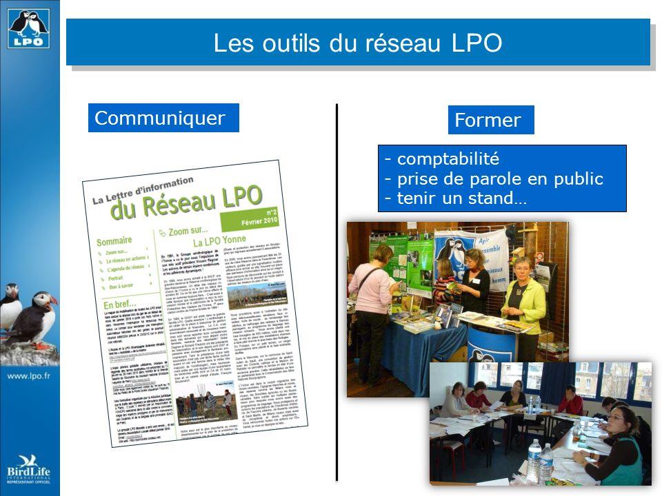 Former Communiquer - comptabilité - prise de parole en public - tenir un stand… Les outils du réseau LPO