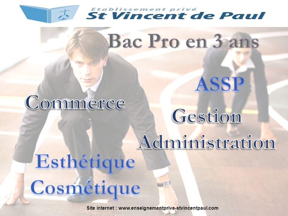Site internet : www.enseignementprive-stvincentpaul.com 1