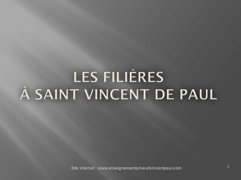 Site internet : www.enseignementprive-stvincentpaul.com 5