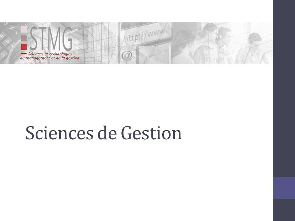 Sciences de Gestion