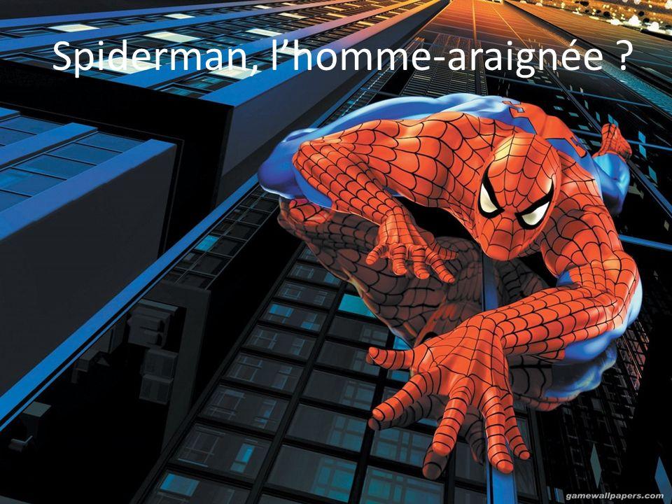 Spiderman, lhomme-araignée ?