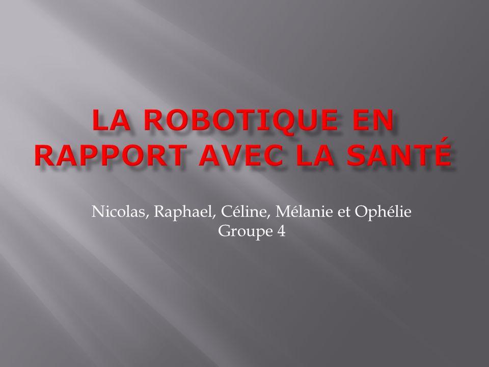 Nicolas, Raphael, Céline, Mélanie et Ophélie Groupe 4