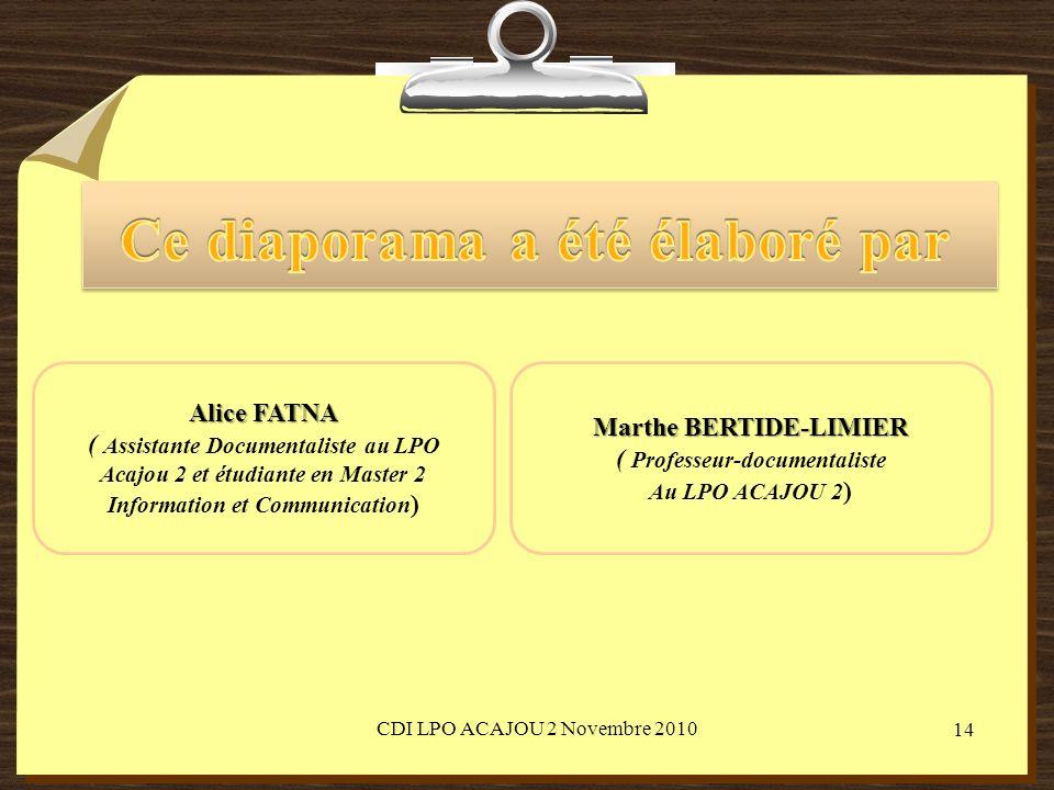 Sources Fiches cours PHOSPHORE[en ligne]. [page consultée le 29 novembre 2010].