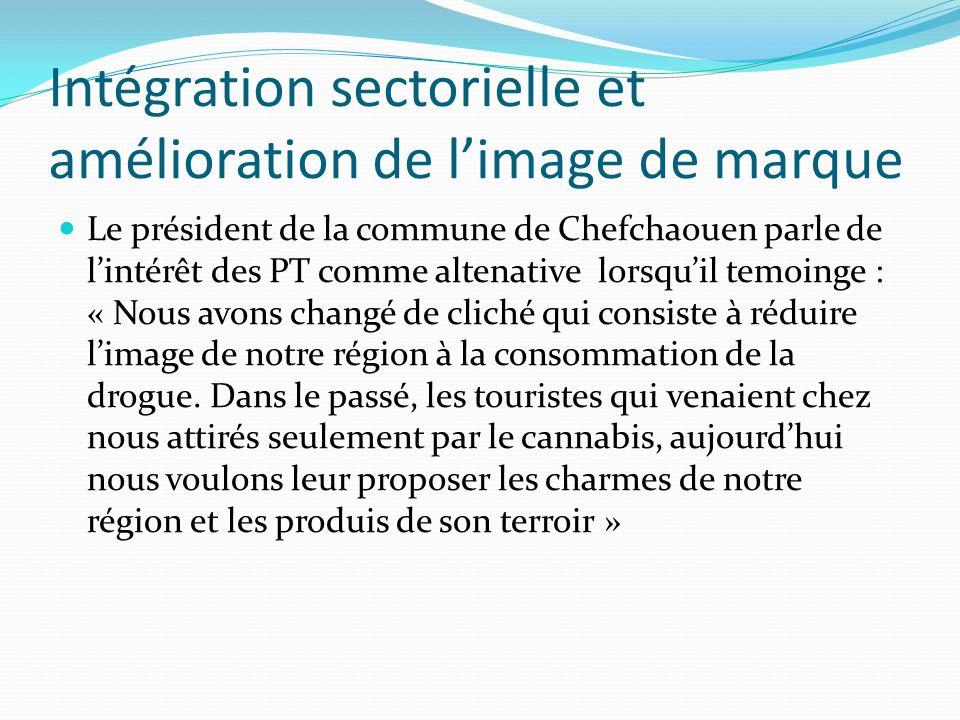 Intégration sectorielle et amélioration de limage de marque Le président de la commune de Chefchaouen parle de lintérêt des PT comme altenative lorsqu