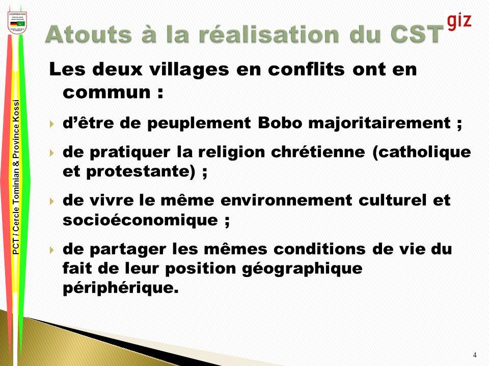 15 Merci pour votre aimable attention! PCT / Cercle Tominian & Province Kossi
