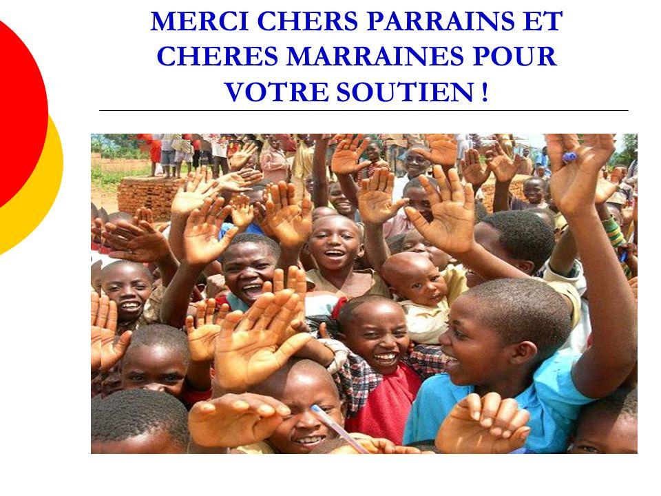 MERCI CHERS PARRAINS ET CHERES MARRAINES POUR VOTRE SOUTIEN !
