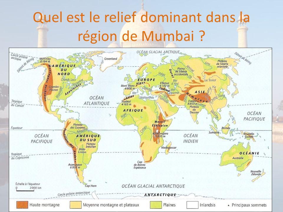 Bilan: Lorganisation de lagglomération de Mumbai.