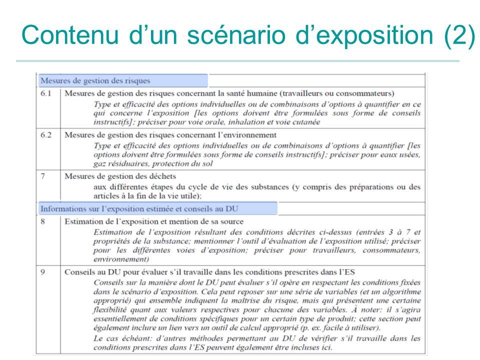 Contenu dun scénario dexposition (2)
