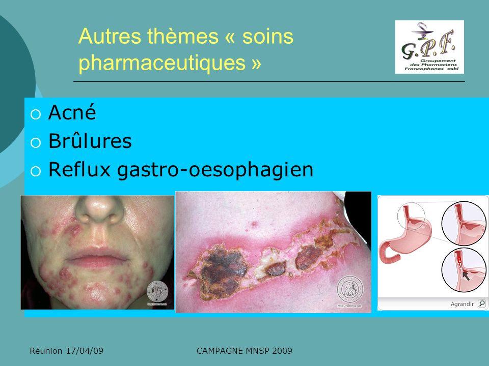 Réunion 17/04/09CAMPAGNE MNSP 2009 Communication En collaboration avec la société Abaques 1.