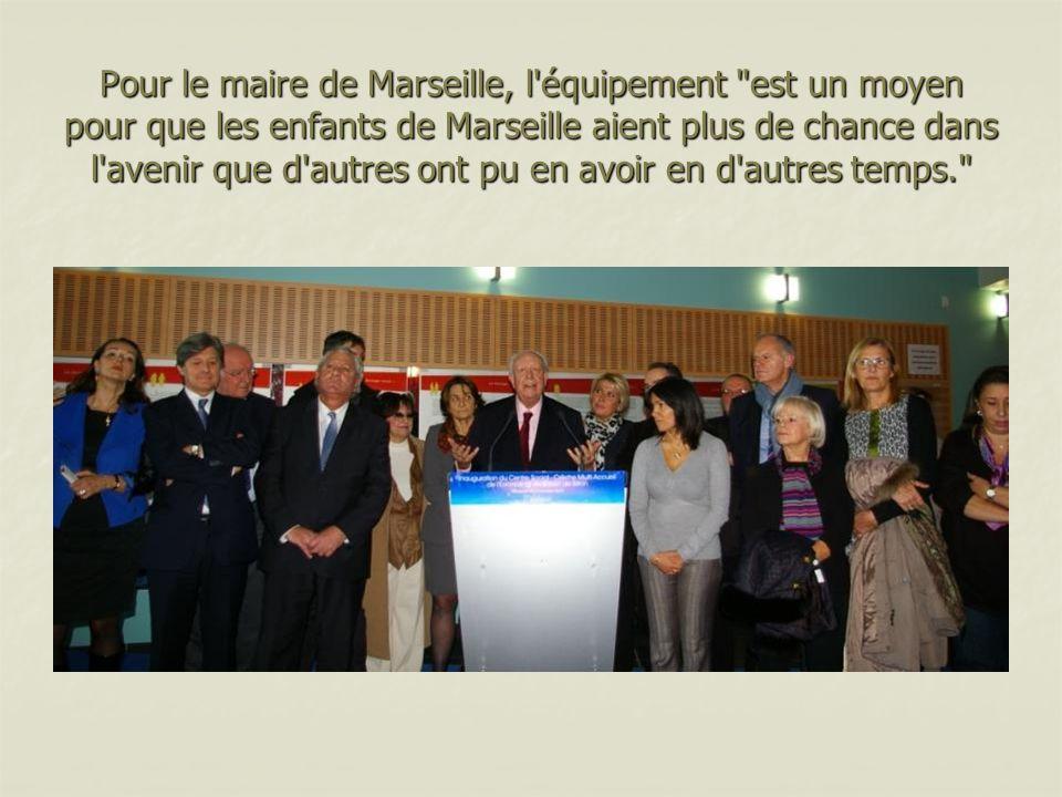 Pour le maire de Marseille, l'équipement