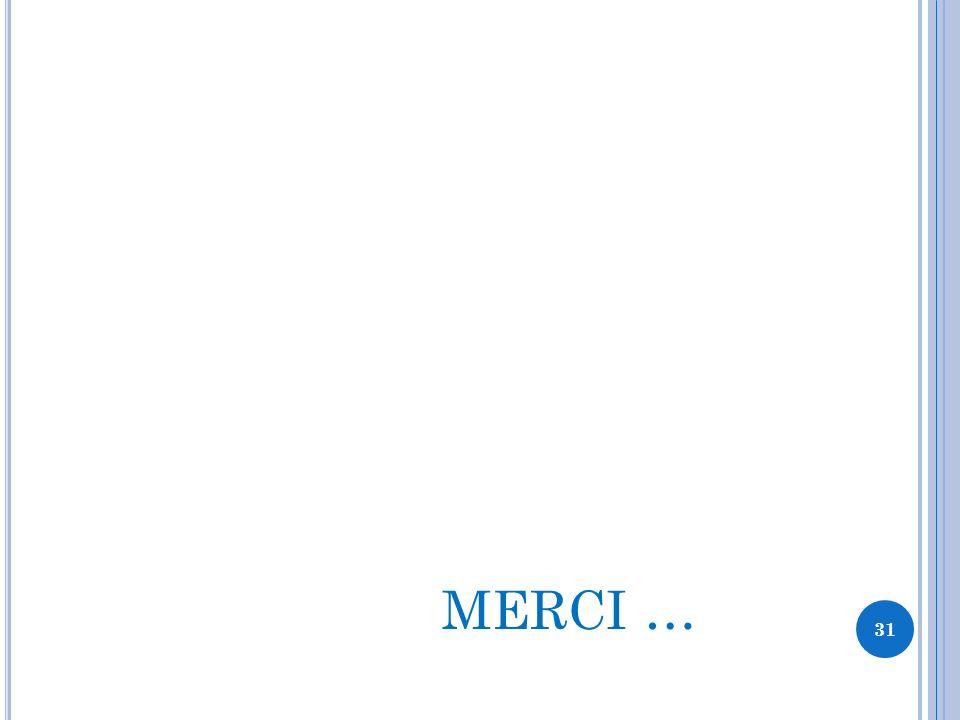 MERCI … 31