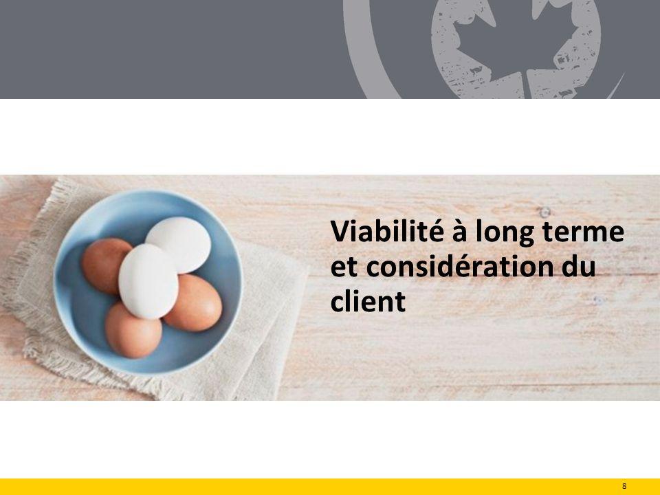 Viabilité à long terme et considération du client 8