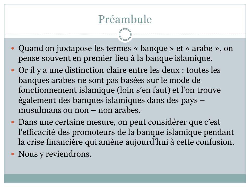 Banque arabe et finance islamique Le concept de finance islamique a une longue histoire puisque lon peut en tracer les origines au septième siècle.
