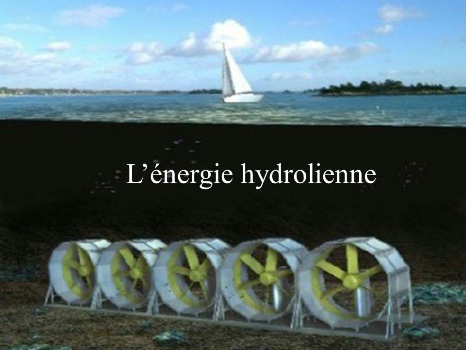 L ÉNERGIE HYDROLIENNE Lénergie hydrolienne
