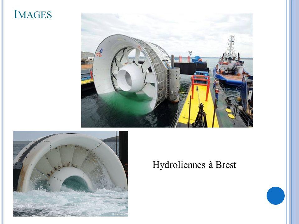 I MAGES Hydroliennes à Brest