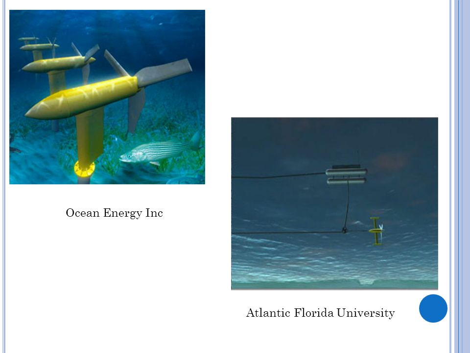 Ocean Energy Inc Atlantic Florida University
