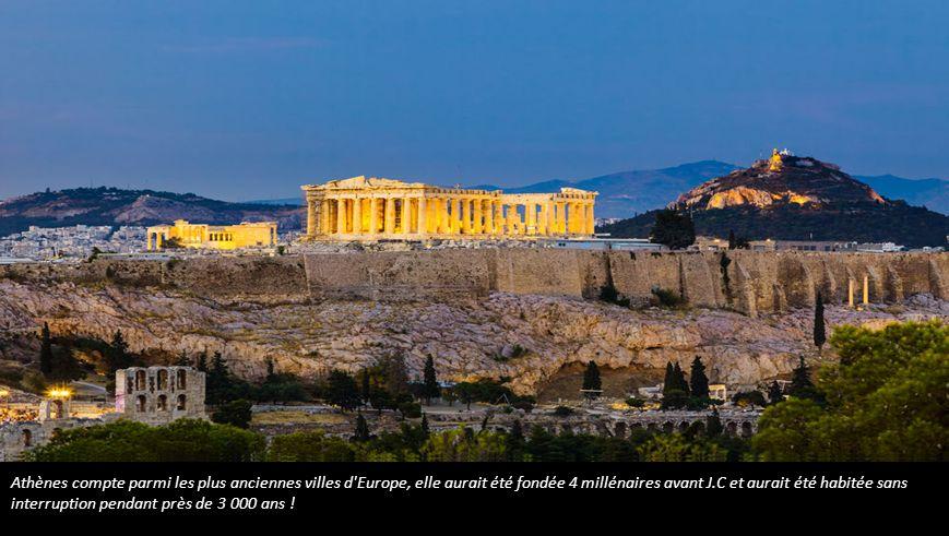 La cité de Byblos, fondée 5 000 ans avant J.C.