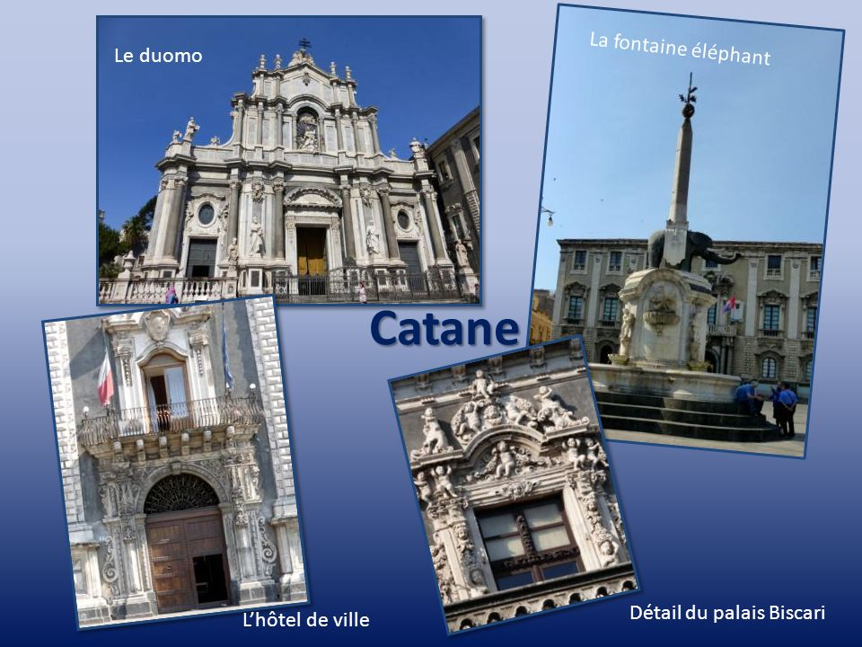 Messine Le détroit Le campanile La cathédrale La fontaine Orion
