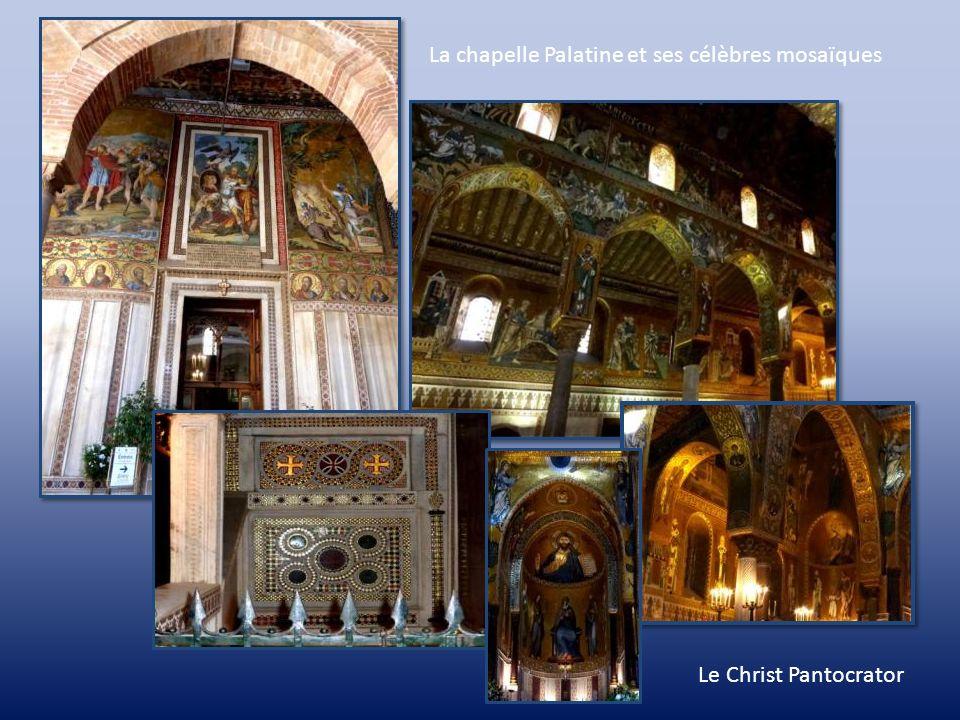 Palerme et sa région Le palais normand, Palazzo dei Normanni, fut construit par les Arabes au 11 ème siècle. Au 12 ème, il devint la résidence de Roge