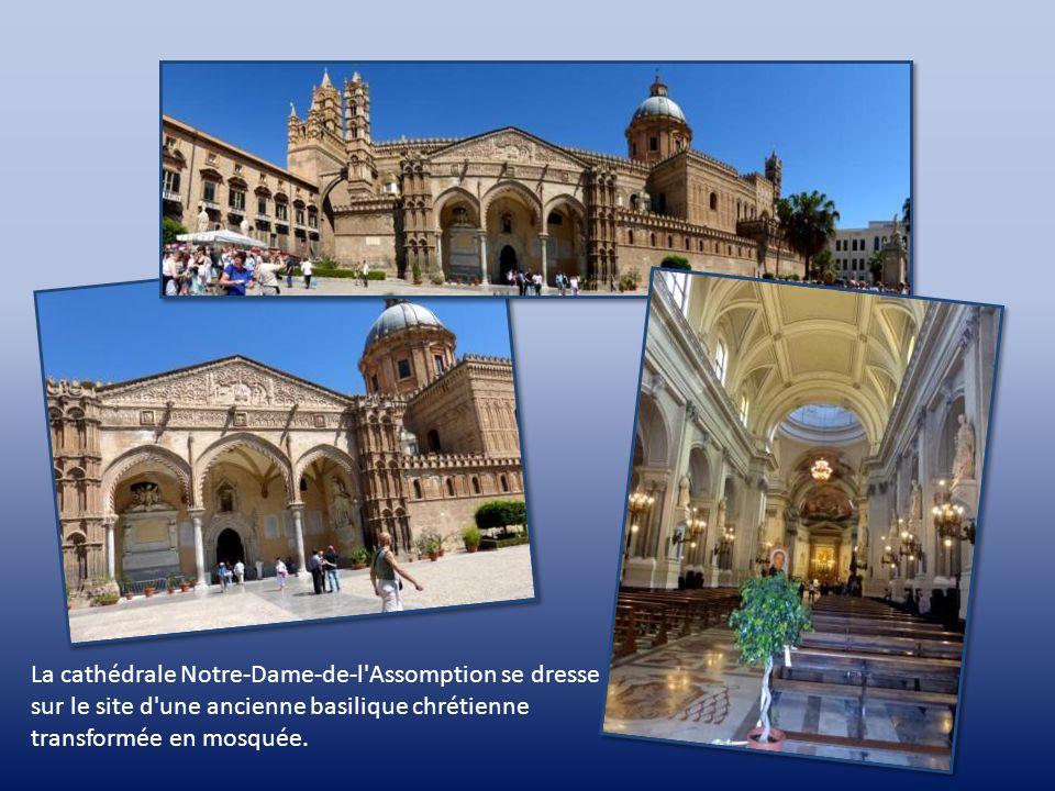La chapelle Palatine et ses célèbres mosaïques Le Christ Pantocrator