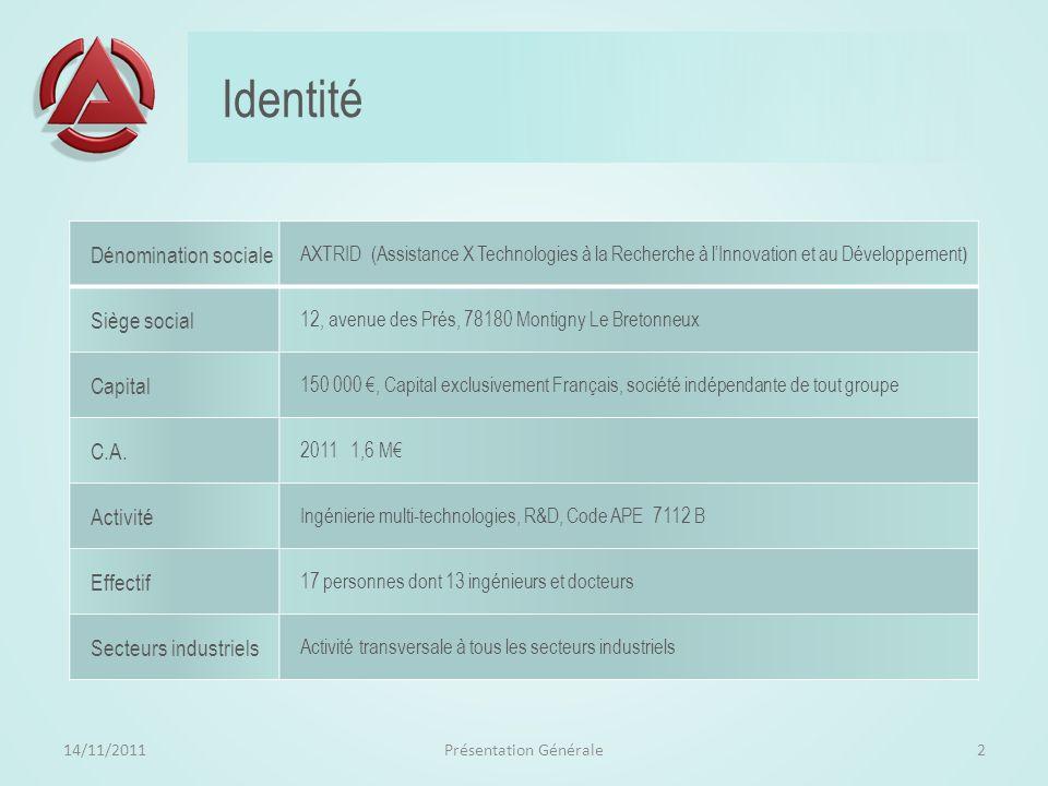 Technologies pour la R&D Contacts : sergio.dos-santos@axtrid.fr01 61 37 45 4306 17 63 82 02 jean.ehrmann@axtrid.fr01 61 37 45 4606 70 71 84 30