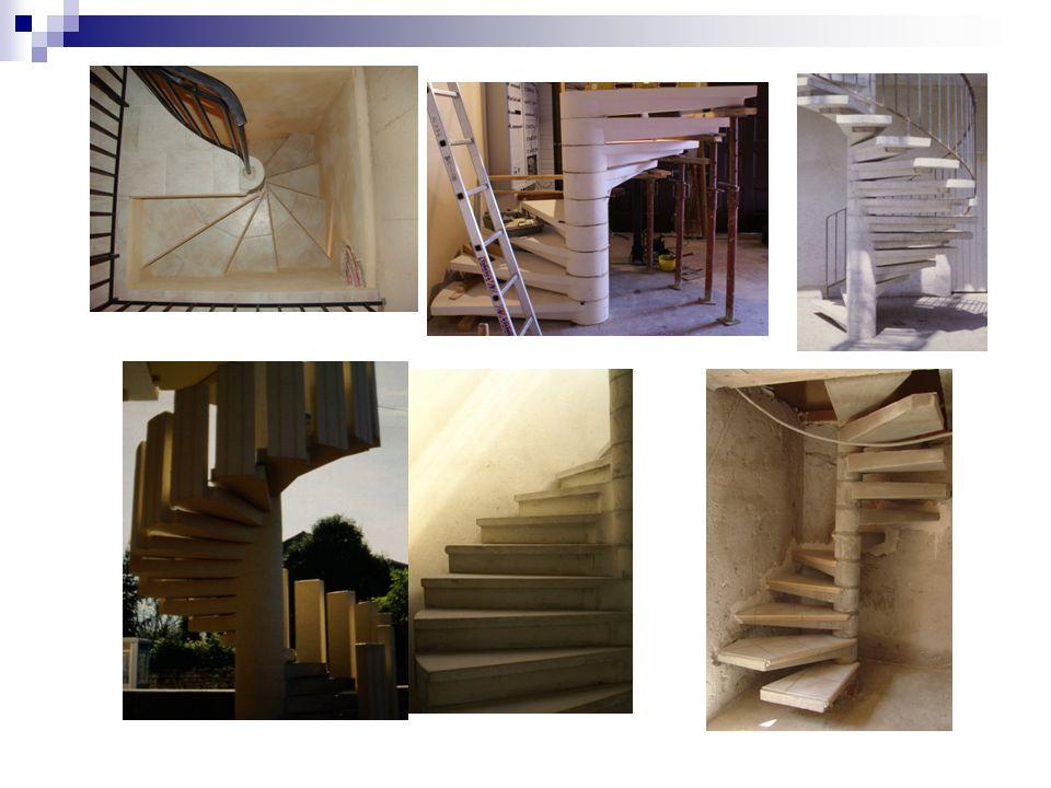 Escaliers styles de 40 cm à 140cm Escalier marches styles Possibilité de fabrication droit,balancé, quart tournant, marches équerres Avec ou sans palier.