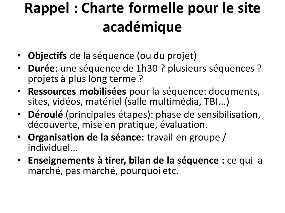 3/ Ressources à disposition - Ressources / cadrage du stage national sur le programme et lévaluation Le compte rendu du stage national / Maurice Flacher.