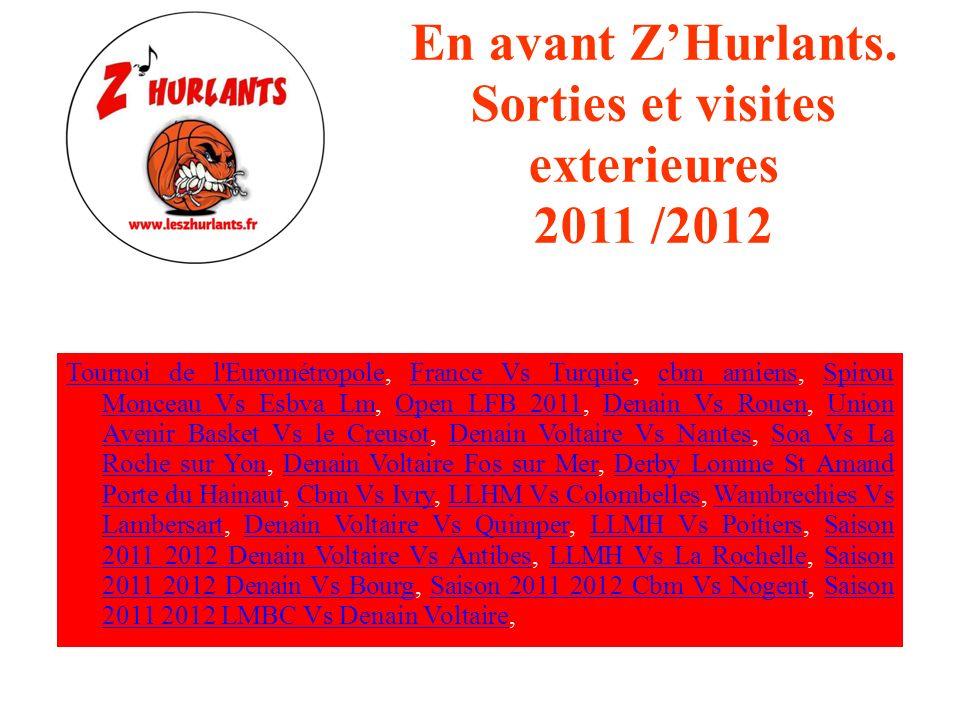 Les ZHurlants et LESBVA LM Saison 2011/ 2012 Tournoi de l'EurométropoleTournoi de l'Eurométropole, Esbva Lm VS Kangoeroes Boom, Spirou Monceau Vs Esbv