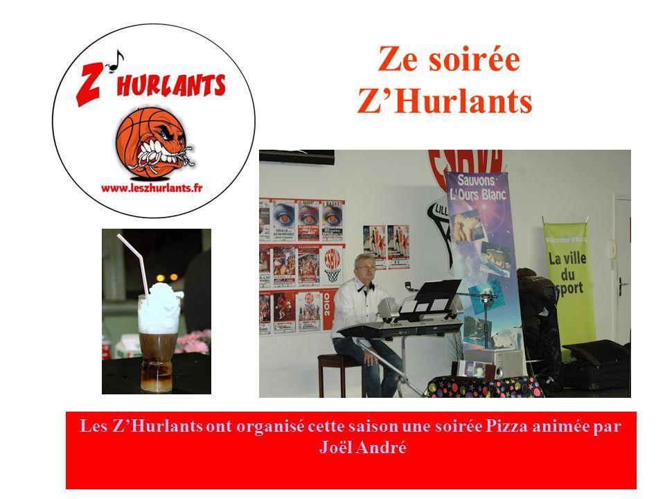 Goûter de Noël des amateurs Les ZHurlants ont participé cette année à lorganisation du Goûter de Noël des amateurs du club avec Quentin Lemonier et le