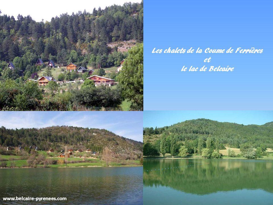 www.belcaire-pyrenees.com BELCAIRE la Coume de Ferrières et son lac