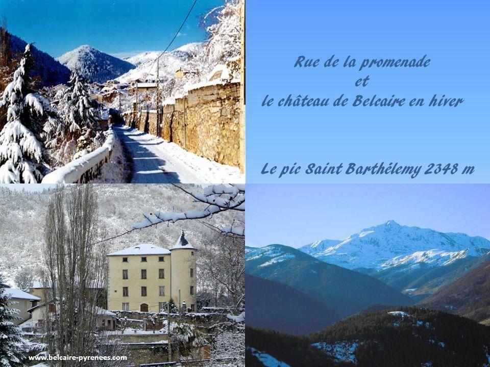 www.belcaire-pyrenees.com Les saisons sur le lac de Belcaire Levé de soleil sur Belcaire au petit matin