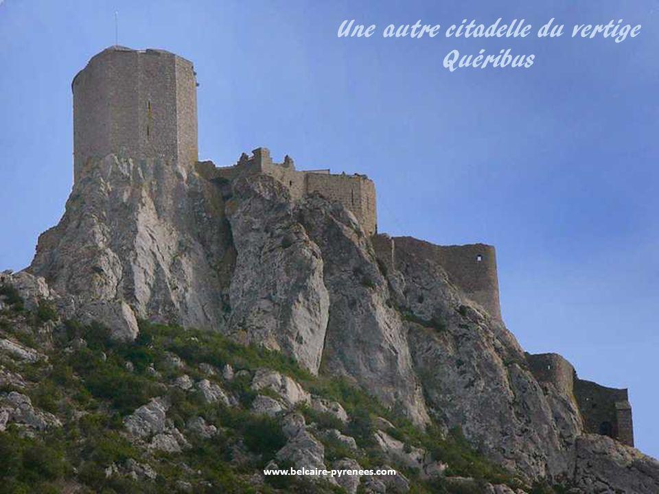 www.belcaire-pyrenees.com La citadelle de Peyrepertuse