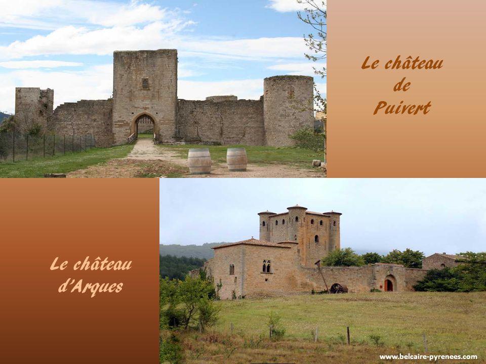 www.belcaire-pyrenees.com La forteresse de Puilaurens