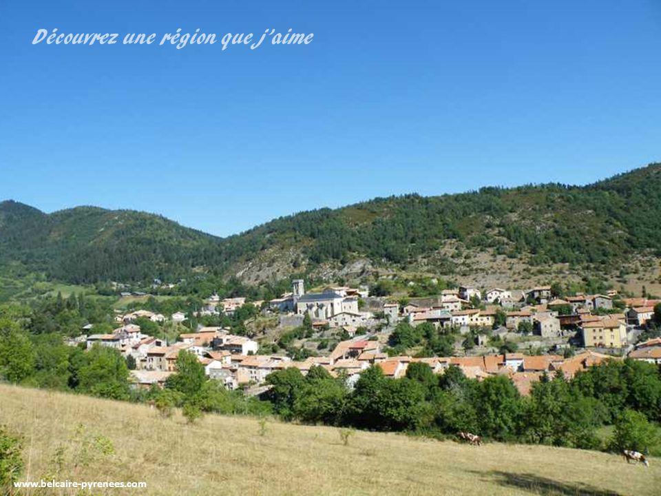 BELCAIRE dans son écrin de verdure www.belcaire-pyrenees.com